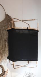 Bamboe framelamp, zwart