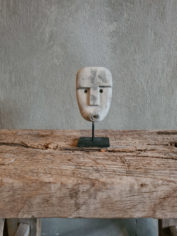 Minimask on stand, grijs