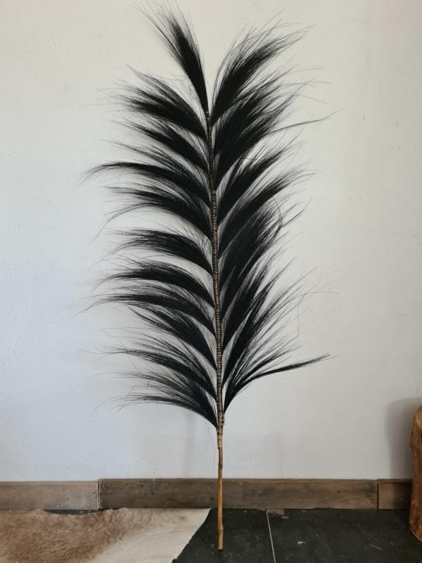 Pluim XL zwart