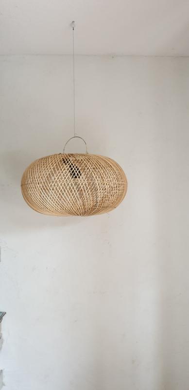 Rotan UFO hanglamp 50cm