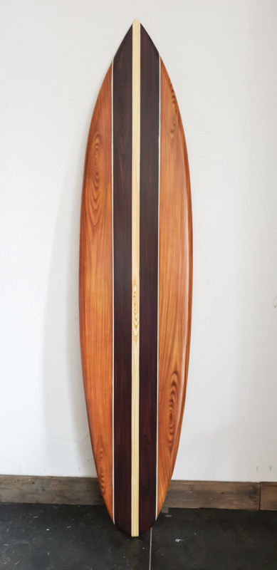 Surfboard lichte middenstreep