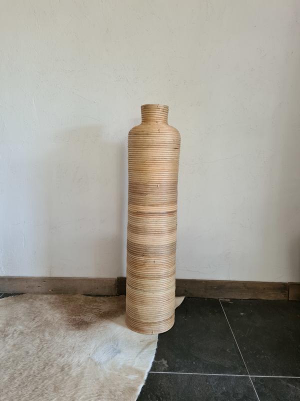 Bamboe vaas XXL