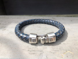 armband heren denim blue