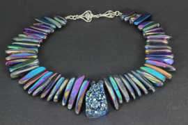 collier rainbow titanium