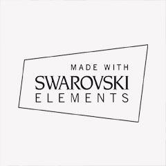oorbellen zilver creolen met swarovski elements druppel