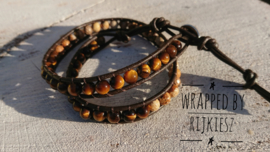Tiger eye wrap