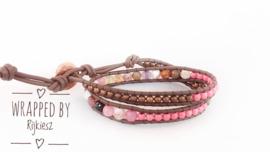Pink rusty wrap