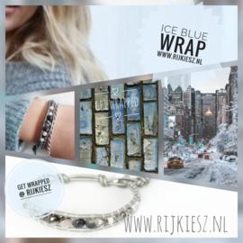 Grey metallic ice wrap