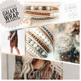 Copper galaxy wrap