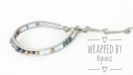 Iceblue for you wrap