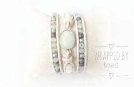 Aquamarine light wrap