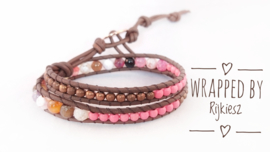 Pink rusty wrap