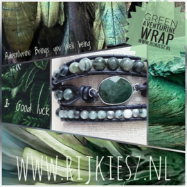 Green Aventurine wrap