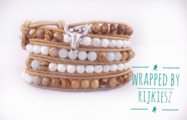 Natural cowgirl wrap