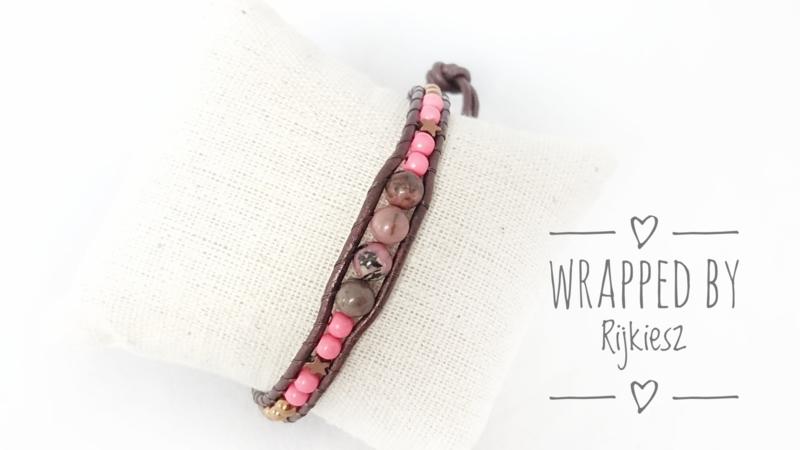 Warm Pink wrap