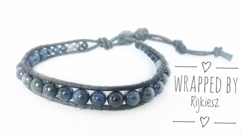 Blue shy wrap