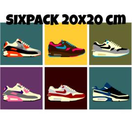 Sixpack Air Max - 20 x 20 cm