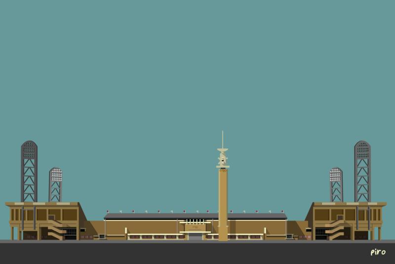 Olympisch Stadion - 1987