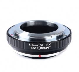 Nikon-S --> Fuji FX