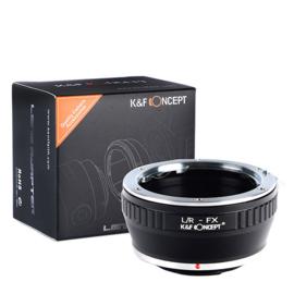 Leica R --> Fuji FX