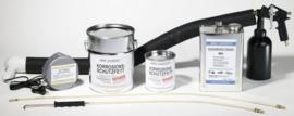Startpakket A: alles wat u nodig heeft, opwarmen met pan voorzien van aftapkraan. Ideaal!