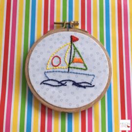 Tegeltje kinderkamer | Life is like Sailing
