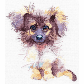 Borduurpakket Kruissteek | Hond (Puppy - Oven ov-1027)