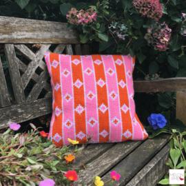 Borduurpakket Kussen | Field of Daisy