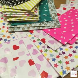 Recycle DIY | Papieren zakjes vouwen