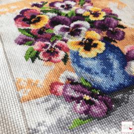 Borduren op voorbedrukt stramien, super handig! (Deel 2)