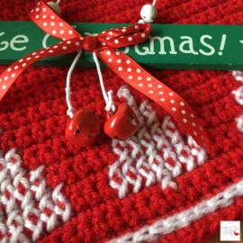 Gratis Haakpatroon Kerst Placemat | Christmas Magic