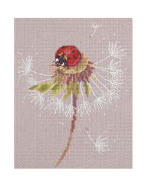 Borduurpakket Kruissteek   Split Seconds of Summer - Ladybird (PANNA)