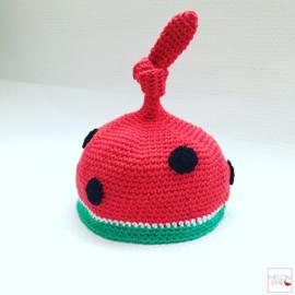 Gratis Haakpatroon Babymutsje | Happy Melon