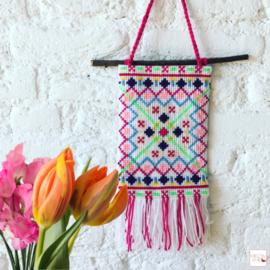 Borduurpakket Wandhanger | Spring has Sprung