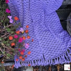 Gratis Haakpatroon XXL Sjaal | Lilac