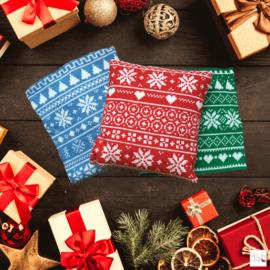 MEGA Kerstborduurbox | Kerstkussens