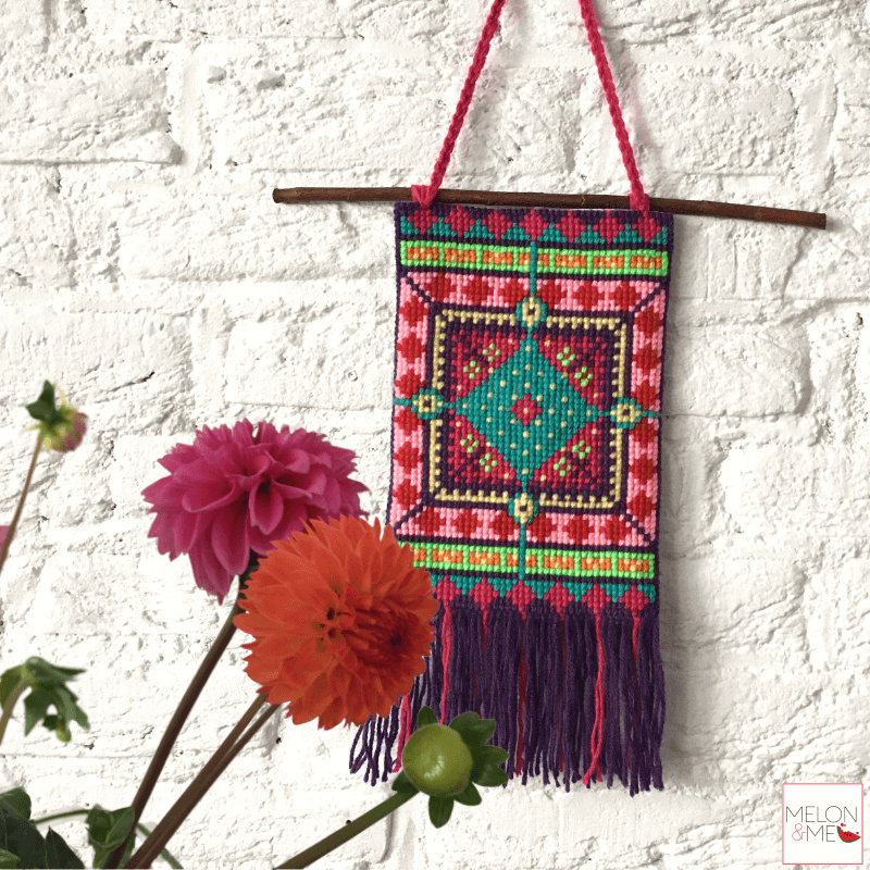 Borduurpakket Wandhanger | Little Sombrero
