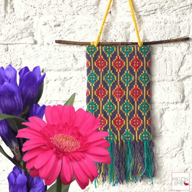 Borduurpakket Wandhanger | Happy Spring