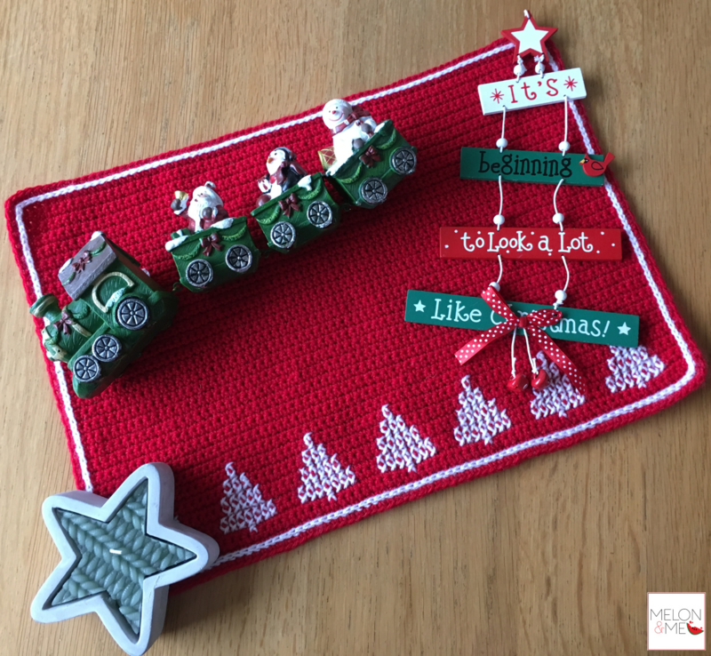 Welp Gratis Haakpatroon Kerst Placemat | Christmas Magic | Blog | Melon JV-08