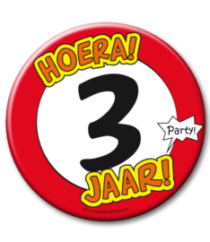 3 jaar Button XL