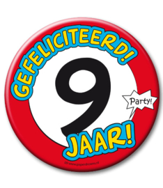 9 jaar Button XL