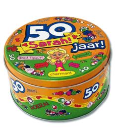 50 jaar sarah snoeptrommel