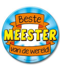 Beste meester van de wereld Button XL