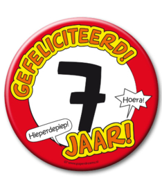 7 jaar Button XL