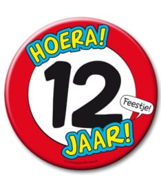 12 jaar Button XL