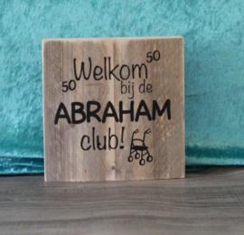 Welkom bij de abraham club