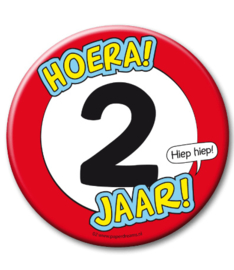 2 jaar Button XL