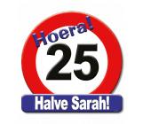 25 jaar halve sarah huldeschild