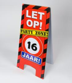 16 Jaar warning Sign