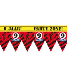9 jaar partytape